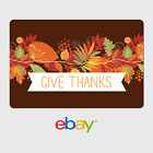 eBay Digital Gift Card - Holiday Themes - Give Thanks