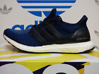 NEW ADIDAS Ultra Boost Men's Running Shoes - Navy/Blue; AQ5928