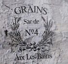 French GRAIN stencil Vintage Furniture Shabby Chic Wall Art Crafts DIY Template