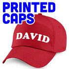 Personalised Printed Caps - Adults