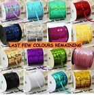 52 COLOURS 6mm Sequin Trim 2M 5M 10M String Round Sequins Sewing Craft Costume