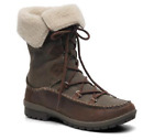 Merrell Emery Lace Leather High, Women's Lace-Up Boots - Brown (Falcon)