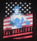 "NEW MENS ""MUHAMMAD ALI CASSIUS CLAY GREATEST"" T SHIRT Boxer Boxing Champion Tee"