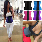 Damen Schlank Waist Trainer Cincher Boned Corset Unterbust Training Figurformer