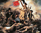 Classic French Revolutionary Art Print, Liberty Leading the People by Delacroix