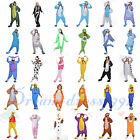 New Hot Unisex Adult Animal Costumi Cosplay Kigurumi Pyjamas Sleepwear bodysuit