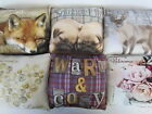 Small Home Decor cushions BY country crafts Winter Dear or cosy