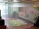 white mosquito net rectangular bed canopy insect bug home travel camping 5 size
