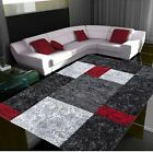 Large Small Red Grey Silver Charcoal Soft Thick Rugs Cheap Rug Long Hall Runners