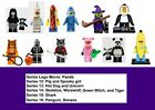 Sealed Lego Series Halloween Costume Animal Pig Shark Unicorn Werewolf Minifig