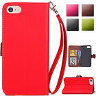 Magnetic Flip PU Wallet Leather Case Cover Skin For Apple iPod Touch 5th 6th Gen