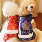 Dog Pet Puppy Jacket Clothes Chinese Traditional Costumes Coat Outwear Apparel