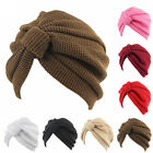 Women Indian Stretchy Knitted Cotton Chemo Turban Hat Head Wrap Hijab Cap