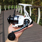 Fishing Reel Spinning 13+1BB Aluminum Alloy Fish Reels with an Extra Spool Drag