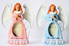 """Angel Baby Photo Frame for 2"""" x 3"""" Photo  Pink or Blue Trippie's NEW !"""