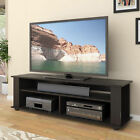 Large TV Stands for flat screen entertainment center storage media console wood