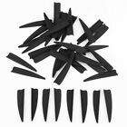 50pcs 3 inch Plastic Arrow Vane TPU Fletching for DIY Arrow Bow Archery