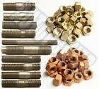 IMPERIAL EXHAUST HIGH TEMPERATURE MANIFOLD STUDS  BOLTS  NUTS   UNC