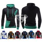 Men's Slim Hoodies Hooded Sweatshirt Coat Jacket Winter Warm Outwear Sweater