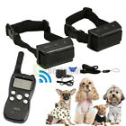 Dog Training Static Shock  / Vibration Collar w /LCD Remote For S /M /L 1-2 Pet Dog