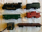 Marx 490 Locomotive And Cars For Parts Or Repair!