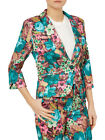 Darling Alice Floral Blazer Jacket RRP �75 S-XL UK 10-16 Jade Fitted Occasion