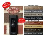 "Elegant ""No Soliciting Thank You"" Doorbell Sign - 1.5"" x 3"" FREE SHIPPING"