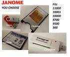 Janome Memory Craft Embroidery Machine YOU PICK Compact Flash Reader Adapter etc