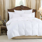 NEW HIGH QUALITY GOOSE FEATHER AND DOWN ALL SEASONS DUVETS PAIR OF GOOSE PILLOWS