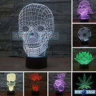 3D LED LAMP Night Desk Acrylic Light | 7 COLOR CHANGE | Micro USB | FREE Postage