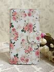 Fresh Rose Peony Pastoral Flower wallet slot flip Case cover for Nokia/LG/HTC