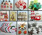 CHRISTMAS CRAFT ROOM CLEAROUT SALE CARD MAKING DIE CUTS SANTA ANGEL STENCIL
