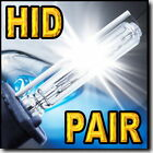 2x 35W H7 HID Xenon Head Light Replacement Bulbs 4300K 6000K 8000K 10000K @