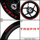 Triumph Trophy Motorcycle Sticker Decal Graphic kit SPKFP1TR016 £59.0 GBP on eBay