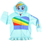 My Little Pony girls fleece hoodie jacket with mask size 3 4 5 cute gift xmas