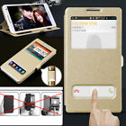 Silk Skin Texture Leather View Window Case Cover For Lenovo VIBE S8 P1 Z2 Pro