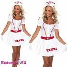 Ladies Nurse Doctor Uniform Halloween Fancy Dress Hens Party Costume Outfits