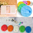 Infant Baby Kids Handprint Footprint Clay Special Baby DIY Air Drying Clays ZD