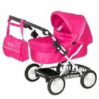 Silver Cross Childrens Ranger Kids Dolls stroller Pram Buggy Pink / Maroon Blush