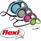 New Flexi Dog Lead Comfort Cord Retractable Soft Grip Dogs Puppies