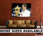 Wall Art Canvas Picture Print - Roger Federer Tennis Player 3 3.2