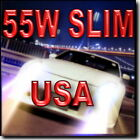 55W SLIM 9007 (Hi Halogen/ Lo HID) HID Kit For High & Low Beam 43K 6K 8K 10K @