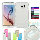 Ultra Thin Crystal Clear Bullet-proof Vest TPU Case Cover For Samsung Galaxy S6