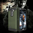 For LG Stylo 2 Plus Hybrid Protective Hard Armor Case Phone Cover