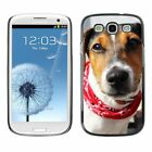 Hard Phone Case Cover Skin For Samsung Dog with red neck scarf