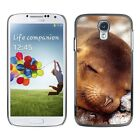 Hard Phone Case Cover Skin For Samsung Beasts sleeping smiling seal