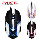 iMICE V6 Mice 6 Buttons Gaming Mouse 3200DPI LED Optical USB Wired Mouse