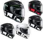 HJC RPha ST Balmer White Red Green Full Face Sun Visor Crash Helmet RRP £299.99
