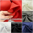 2mm Thick Neoprene Stretch Fashion Dress Making Craft Fabric Material 60