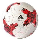 adidas Confed Cup OMB Spielball Fußball weiß rot